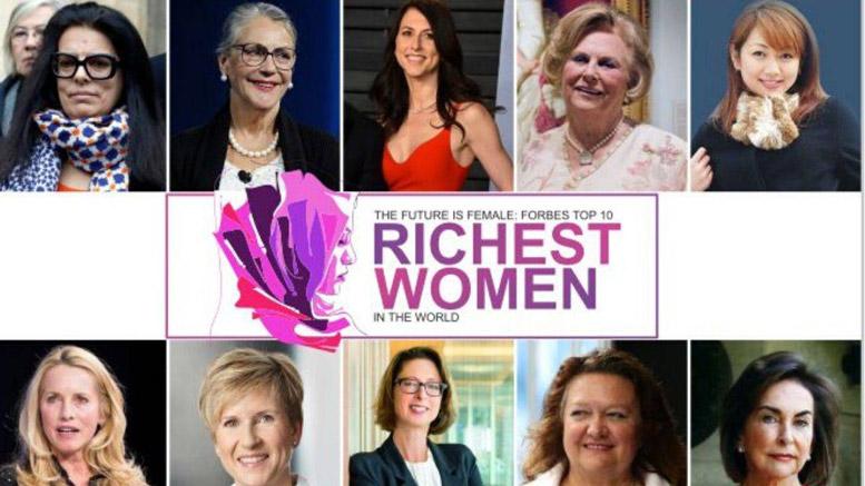 ثروتمندترین زنان جهان | ۱۰ زن ثروتمند