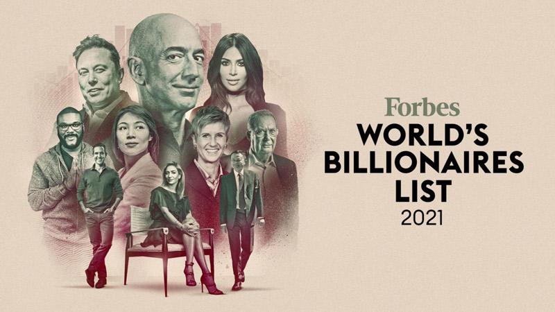میلیاردرهای معروف دنیا از نگاه فوربز در سال ۲۰۲۱