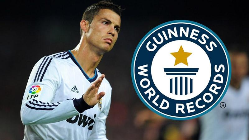 رکوردهای فوتبالی کریستیانو رونالدو